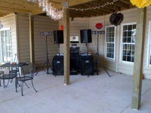 Set up at Lake Anna
