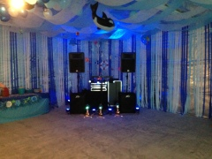 Under water themed birthday party